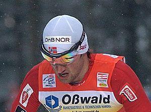 Petter Northug at the Tour de Ski 2010 in Oberhof
