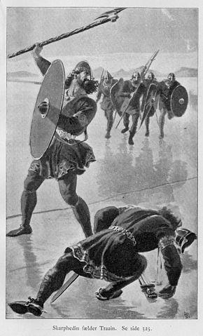 Skarp'héðinn kills Thrain Sigfusson (1898)