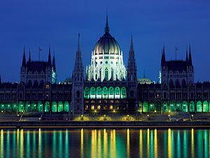 English: Parliament Palace, Budapest, Hungary ...