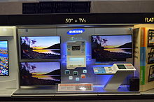 Smart TV   Wikipedia Smart TVs on display