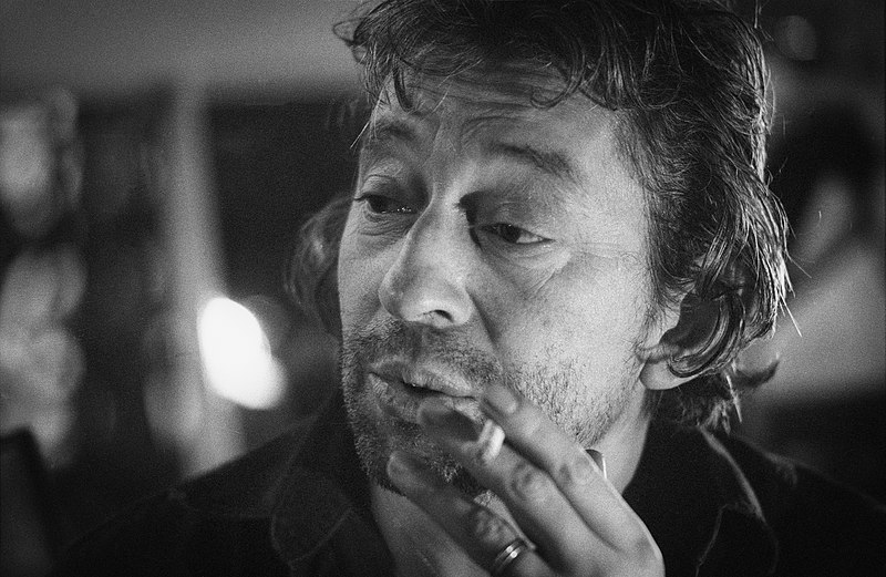 Serge Gainsbourg, born Lucien Ginsburg