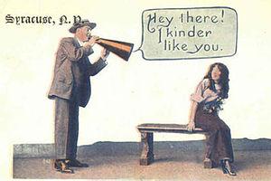 English: Syracuse postcard - 1913