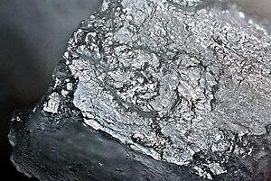 Table salt (NaCl) crystal