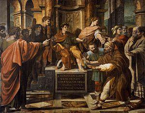 St Paul before the Proconsul