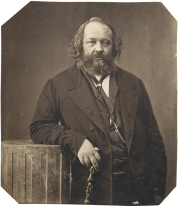 English: Mikhail Bakunin, russian Anarchist
