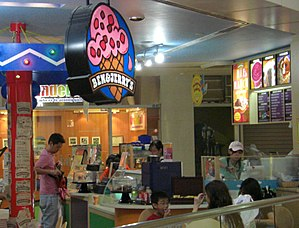 Ben & Jerry's branch at United Square Mall, Si...