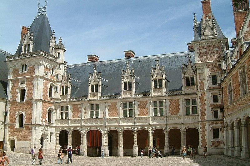 Château de Blois aile LouisXII