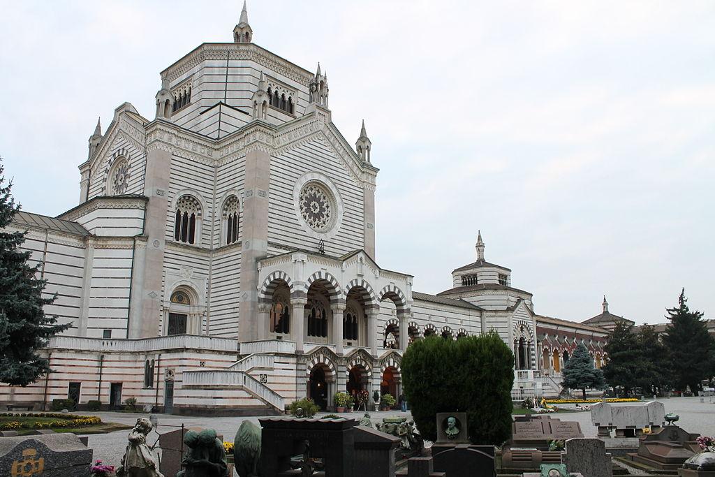 Cimitero Monumentale di Milano - Famedio - facciata posteriore