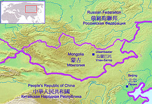 The Gobi Desert lies in the territory of Peopl...