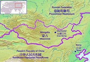 The Gobi Desert lies in the territory of Peopl...
