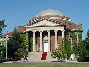 Hendricks Chapel, Syracuse University.