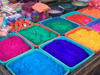 India - Color Powder stalls - 7242