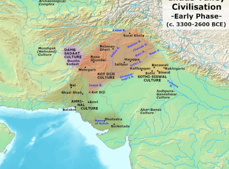 File:Indus Valley Civilization, Early Phase (3300-2600 BCE).png