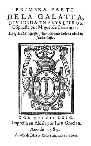 English: Title Page of the First Edition of Mi...