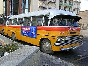 A Malta bus