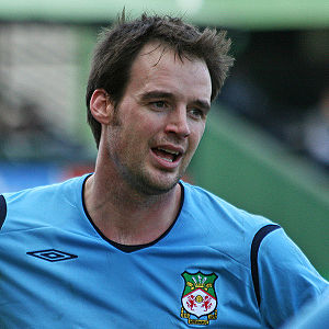 English: Matt Jansen playing for Wrexham