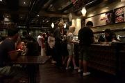 Photograph of the interior of a Max Brenner ch...