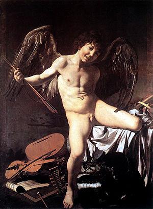 Amor Vincit Omnia (Love Conquers All), a depic...