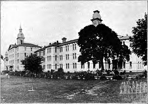 Oregon State Hospital in Salem, Oregon circa 1920