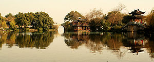 English: West Lake, Hangzhou, China