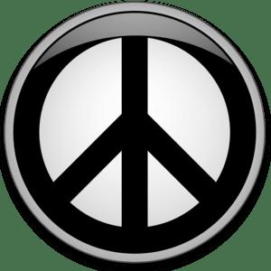 English: Peace button - Web 2.0 style