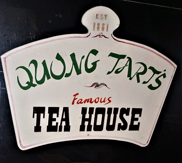 Quong Tart's Tea House Sign - www.joyofmuseums.com - Chinese Museum, Melbourne