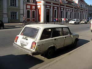 Sankt-Petěrburg, auto