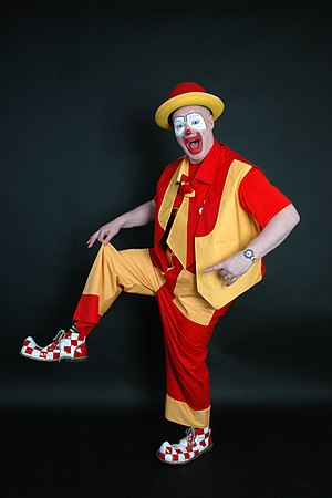English: Smilie The Clown