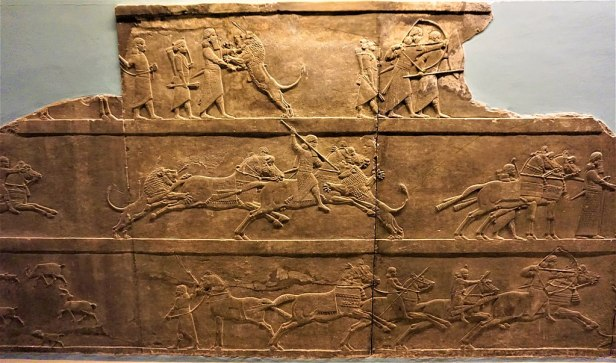 Royal Lion Hunt of King Ashurbanipal