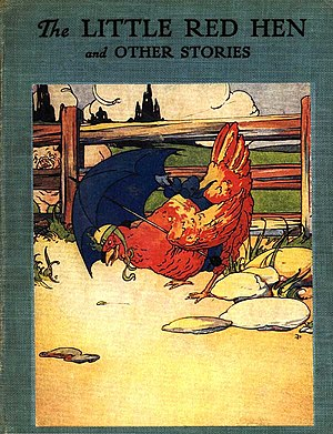 "English: Cover of ""The Little Red Hen"""