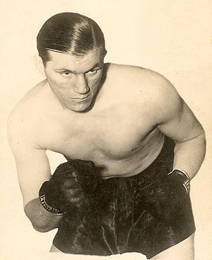 Former British and Empire heavyweight champion...