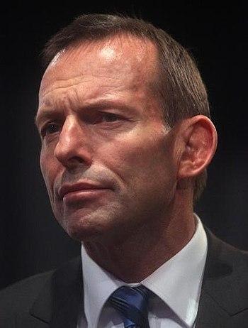 English: Tony Abbott in 2010.