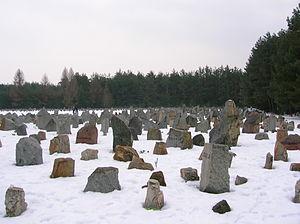 Treblinka's Memorial in Winter