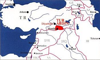 La région du Tur-Abdin, terre d'origine des As...