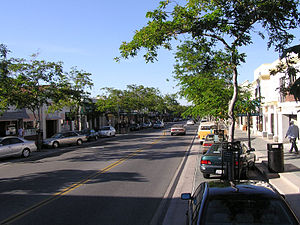 Castro Street in downtown Mountain View