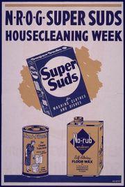 """""""N-R-O-G super suds housecleaning week&qu..."""