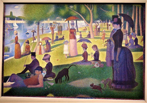 A Sunday on La Grande Jatte by Georges Seurat - Joy of Museums - Art Institute of Chicago