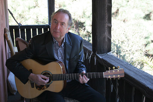 Eric Idle with Guitar