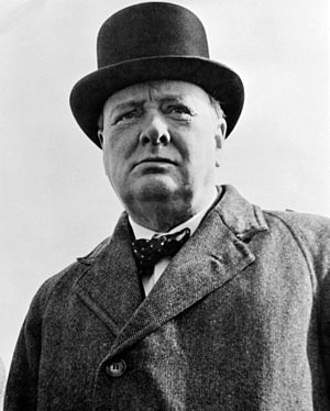 Sir Winston Churchill.