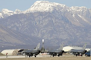 AVIANO AIR FORCE BASE, Italy (March 20, 2011) ...