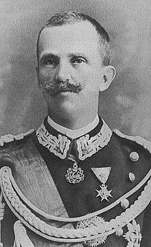 Victor-Emmanuel III, roi d'Italie.