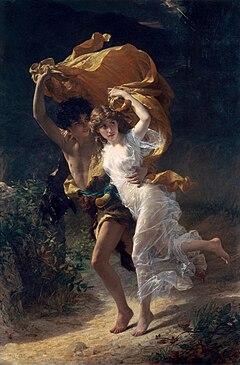 1880 Pierre Auguste Cot - The Storm