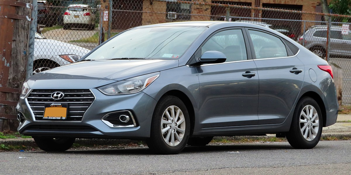 These redesigned hyundai sedans have the features and fuel economy to earn a closer look. Hyundai Accent Wikipedia