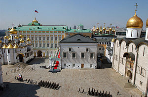 English: Moscow, the Kremlin. Cathedral Square