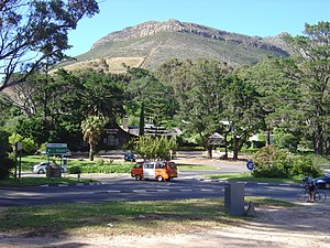 English: Intersection at Constantia Nek in Cap...