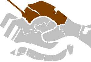 districts of Venice - Cannaregio.