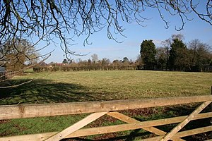 English: Earmarked field This field up Winterb...