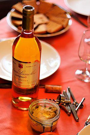 Sauternes & Foie gras