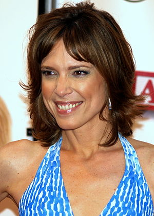 Hannah Storm at the premiere of Baby Mama in N...