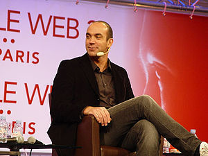 Loïc Le Meur at the LeWeb 3 conference, in dec...